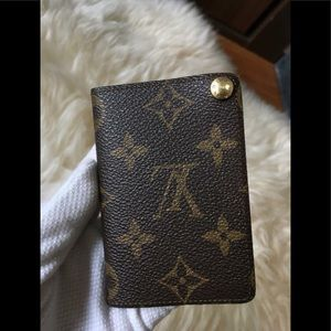 Preloved authentic Louis Vuitton card case